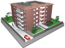 Edif. de 20 viv. de protecció oficial - La Guinardera - Sant Cugat